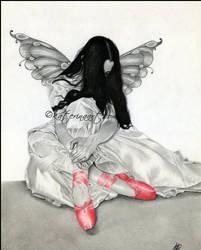 The Ruby Slipper by Katerina-Art