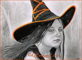 Beautiful Witch by Katerina-Art