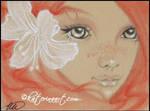 Lily Fairy SKETCH FEST 24 by Katerina-Art