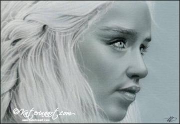 Daenerys Targaryen by Katerina-Art