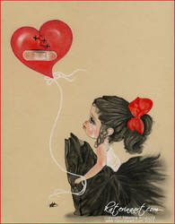Heart Stitches by Katerina-Art