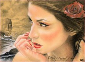 Mermaid's Ship by Katerina-Art