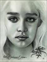 Khaleesi by Katerina-Art