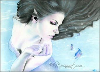 Mermaid  Fantasea by Katerina-Art
