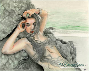 Daughter of the ocean by Katerina-Art