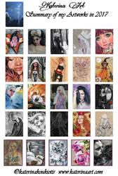 Summary ART 2017 by Katerina-Art