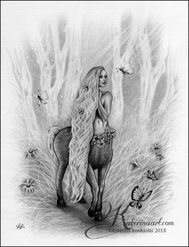 Hylonome by Katerina-Art