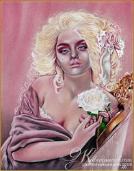 Rococo Roses by Katerina-Art