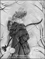 Doorway to winter by Katerina-Art