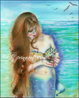 Mermaid's Keepsake by Katerina-Art