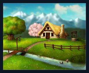 4 Seasons - Spring by geci