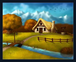 4 Seasons - Autumn by geci