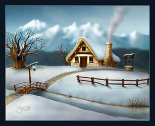 4 Seasons - Winter by geci