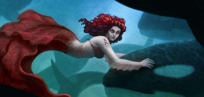Mermaid pod by IllustrationMinion