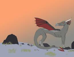 -Dragon Mountain- by PHantomDragon-56