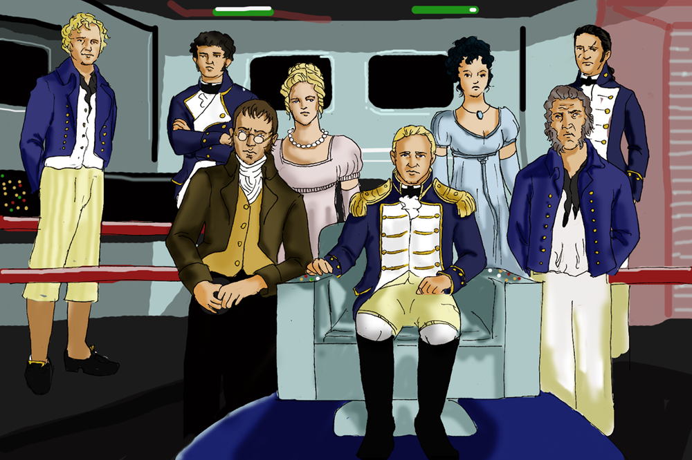 Starfleet Captain Jack Aubrey by tootsiemuppet