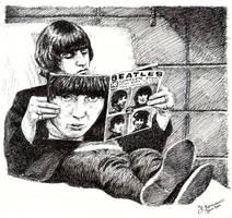Beatles - Ringo by tootsiemuppet