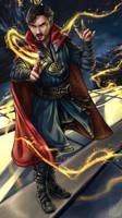 Fan art: Doctor Strange by Niabolla
