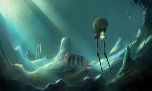 Atlantis discovered by sketchboook