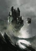 Flying Castle by sketchboook