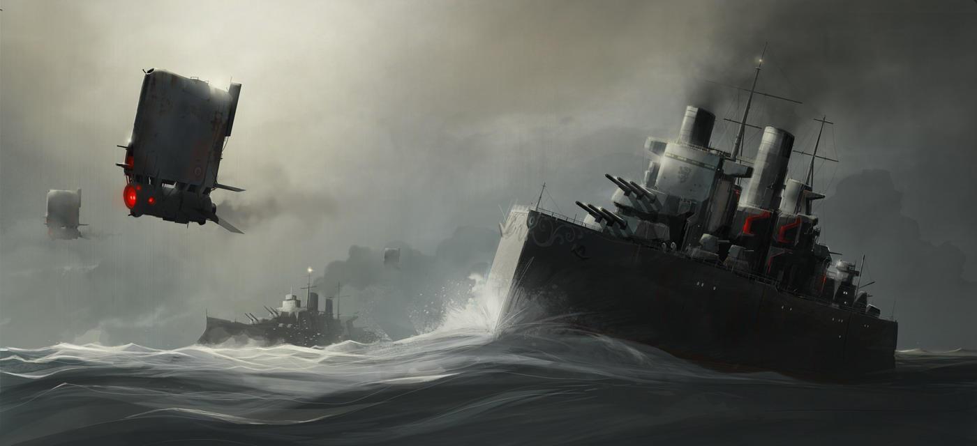 HMS Colossus by sketchboook