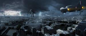 Battlefield: Paris by sketchboook
