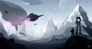 Invasion fleet by sketchboook