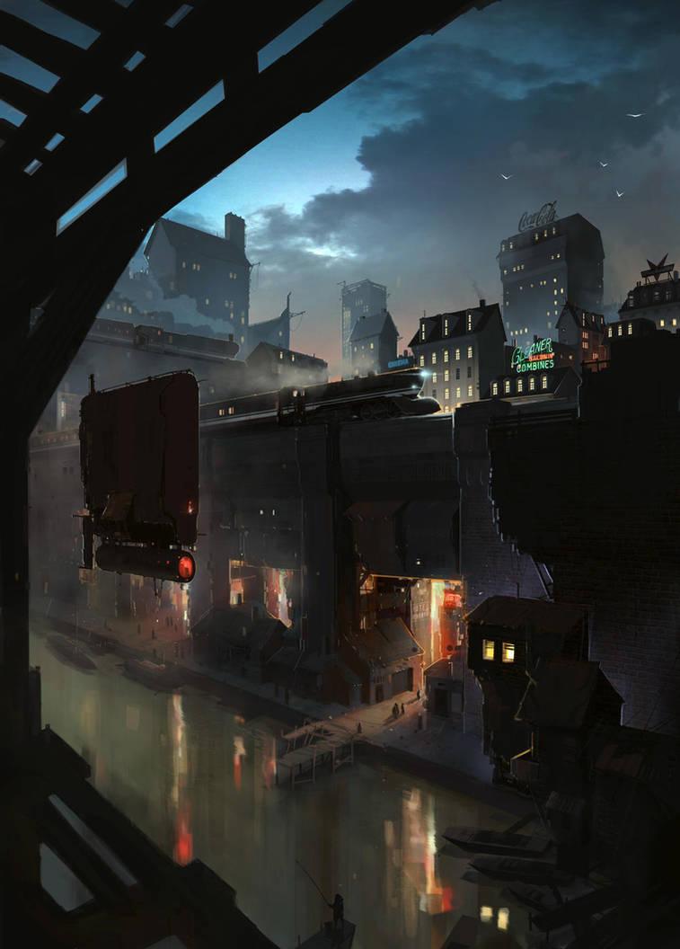 Metropolis by sketchboook