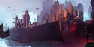 Shipyard by sketchboook