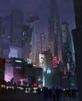 Downtown by sketchboook