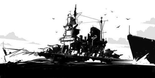 HMS Swift by sketchboook