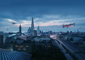Cityscape by sketchboook