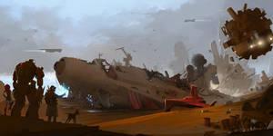Crimson Raider by sketchboook