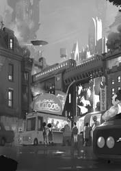 GalacTACOS foodtruck by sketchboook