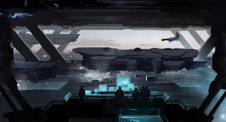 Hangar 6 by sketchboook