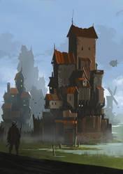 Castle by sketchboook