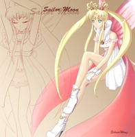 Sailor Moon by Omen-of-SilverWing