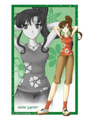 SKP: Sailor Jupiter by Omen-of-SilverWing