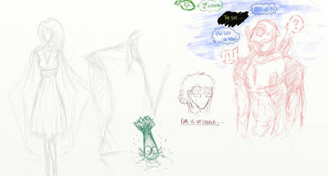 Sketch Dump Fun 3 - Kims Is Not Creative by omnomkims