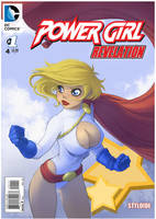 Power Girl Cover by StyloideIllustration