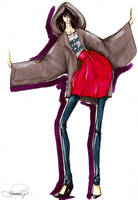 Fashion Illustration II by Volpibr