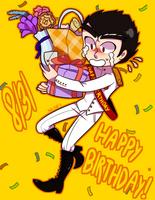 Happy Birthday Ishi! by Dali-Puff