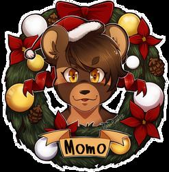 Momo Wreath by Dali-Puff