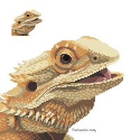 Poncho The Bearded Dragon by TheOceanOwl