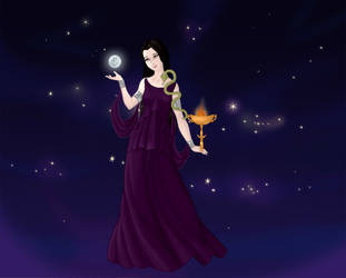 Lady Hecate by PoisonDLucy13