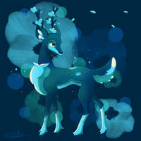 |Palette 01: Favorite Pokemon| Sawsbuck! by frostlie