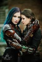Daedra and Lady Elbereth by MrSTimmyHog