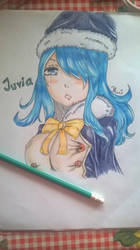 Juvia from Fairy Tail by BrighterAngel
