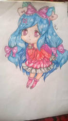Anime Chibi by BrighterAngel