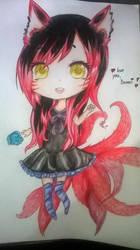 Ahri anime by BrighterAngel